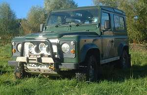 Toughen up your Land Rover with steering guard, jackable sills and serious off road equipment